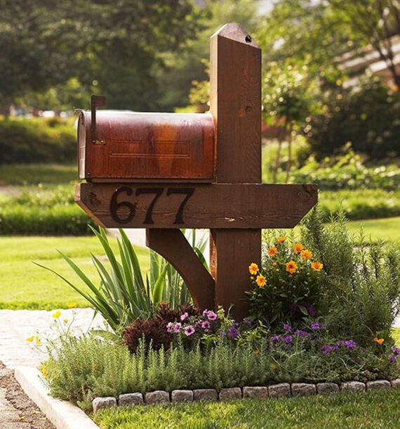 Wooden Mailbox Ideas That Will Welcome Your Guests