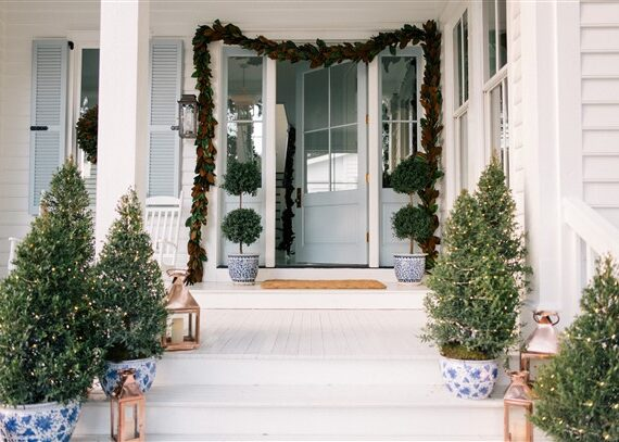 Front Porch Decorating Ideas With Planters: Best Ideas For Your Front Door