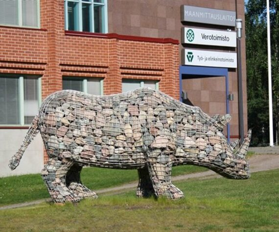 Gabion Animals That Can Recreate Outdoor Spaces