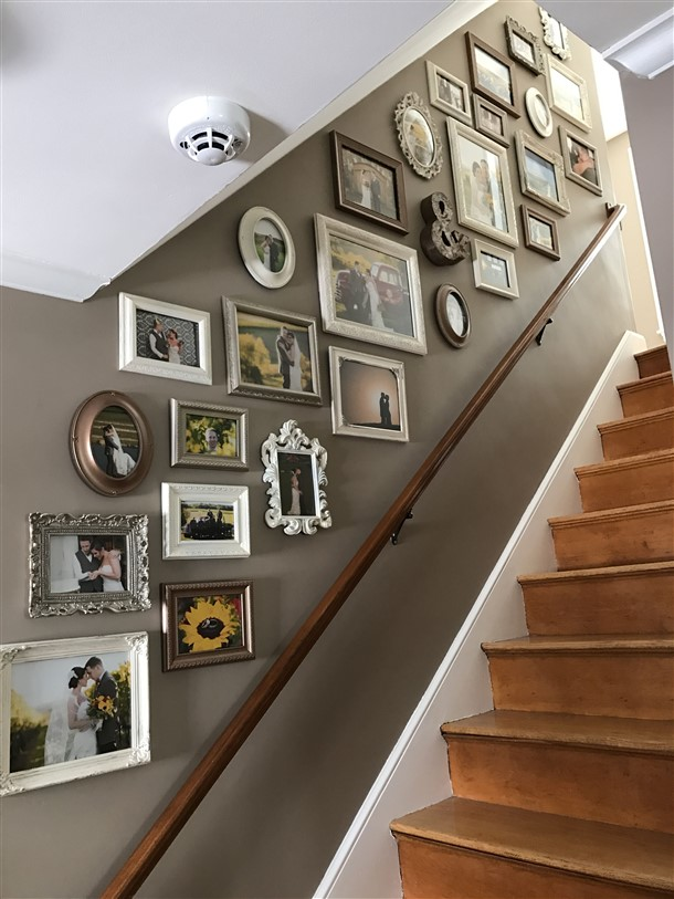 The Best Stairway Gallery Wall Ideas That Warm Your Home Garden Inspiring Interior Outdoor And Diy