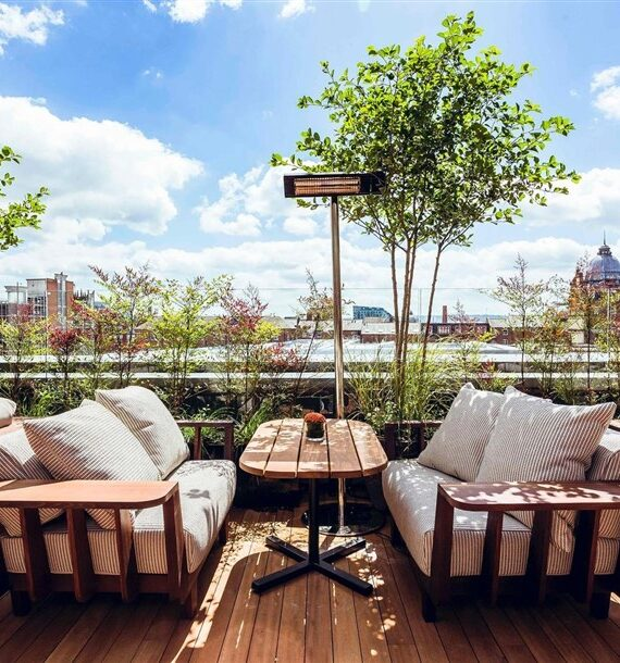 Rooftop Terrace Design with 8 Inspiring Furnishing Ideas